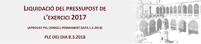 Liquidació pressupost 2017 [pdf]