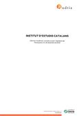 Informe auditoria i memòria econòmica 2019